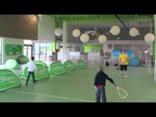 A la découverte du speed badminton à Oxylan village